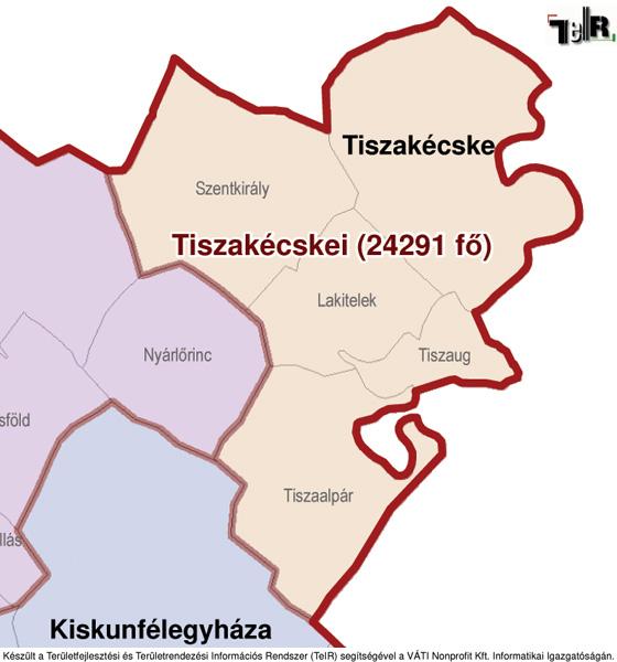 lakitelek térkép Tiszakécske a járás térképen   Tiszakécske a Tiszakécskei járáshoz  lakitelek térkép